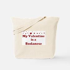Sudanese Valentine Tote Bag