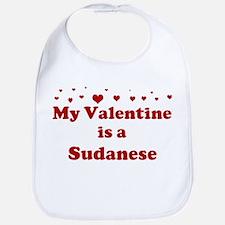 Sudanese Valentine Bib