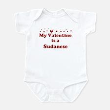 Sudanese Valentine Infant Bodysuit