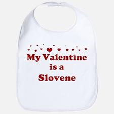 Slovene Valentine Bib