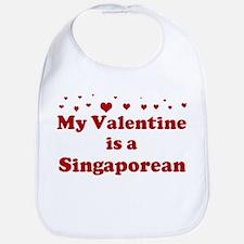 Singaporean Valentine Bib