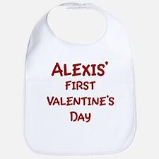 Alexiss First Valentines Day Bib