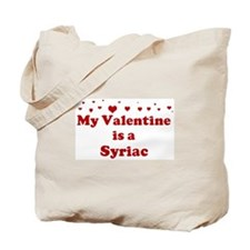 Syriac Valentine Tote Bag