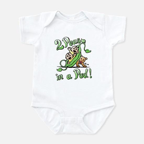 2 Peas & a Pup Infant Bodysuit