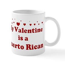 Puerto Rican Valentine Mug