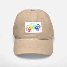 Rainbow Hands Baseball Baseball Cap