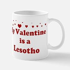 Lesotho Valentine Mug