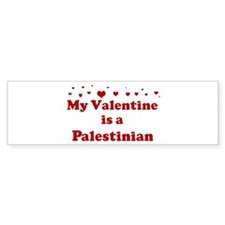 Palestinian Valentine Bumper Bumper Sticker