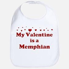 Memphian Valentine Bib