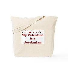 Jordanian Valentine Tote Bag