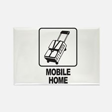 Mobile Home Rectangle Magnet