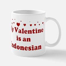 Indonesian Valentine Small Small Mug