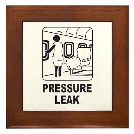 Pressure Leak Framed Tile
