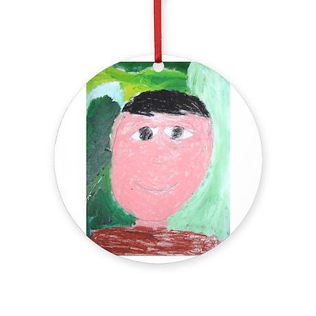 Isaias Gomez Ornament (Round)