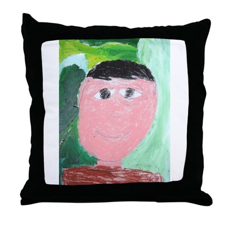 Isaias Gomez Throw Pillow