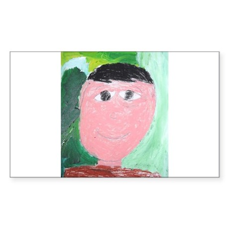 Isaias Gomez Rectangle Sticker