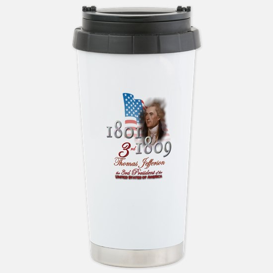 3rd President - Stainless Steel Travel Mug