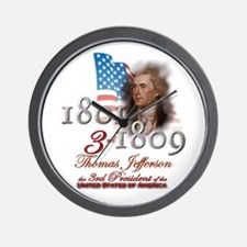3rd President - Wall Clock