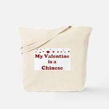 Chinese Valentine Tote Bag