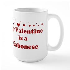 Gabonese Valentine Mug