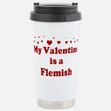 Flemish Valentine Stainless Steel Travel Mug