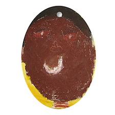 D'Angelo Iraheta Oval Ornament