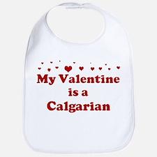 Calgarian Valentine Bib