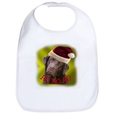 Holiday Pups Bib