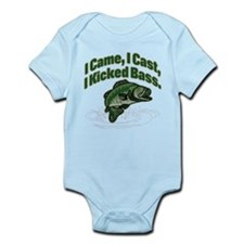 CAME, CAST, KICKED BASS Infant Bodysuit