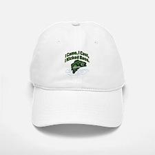 CAME, CAST, KICKED BASS Baseball Baseball Cap