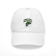 CAME, CAST, KICKED BASS Baseball Cap
