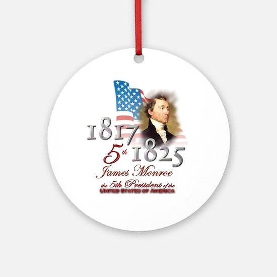 5th President - Ornament (Round)