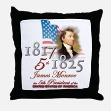 5th President - Throw Pillow