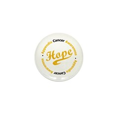 Hope Appendix Cancer Mini Button (100 pack)