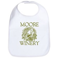 Moore Last Name Vintage Winery Bib