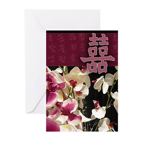 Asian Inspiration Greeting Cards (Pk of 10)