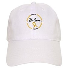 Appendix Cancer Believe Baseball Cap
