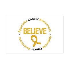 Appendix Cancer Believe Posters