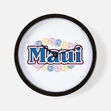 Hawaii - flowers Wall Clock