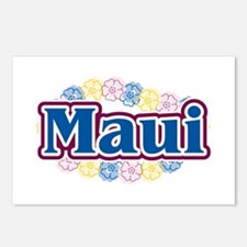 Hawaii - flowers Postcards (Package of 8)