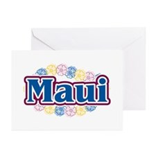 Hawaii - flowers Greeting Cards (Pk of 20)