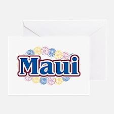 Hawaii - flowers Greeting Cards (Pk of 20)