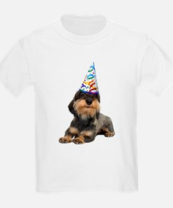Wirehaired Dachshund Party T-Shirt