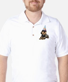 Wirehaired Dachshund Party Golf Shirt