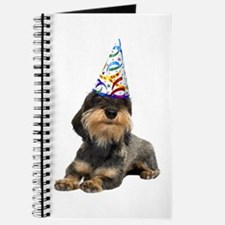 Wirehaired Dachshund Party Journal