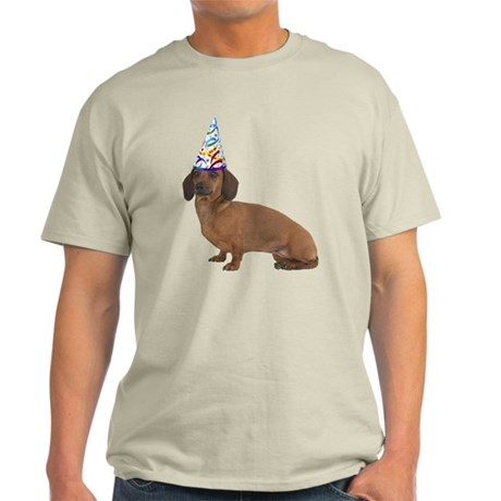 Dachshund Party Light T-Shirt