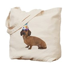 Dachshund Party Tote Bag