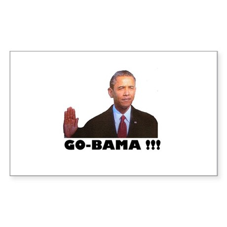 Go-Bama!!! Rectangle Sticker