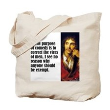 "Moliere ""Exempt"" Tote Bag"