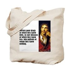 "Moliere ""Doctors"" Tote Bag"